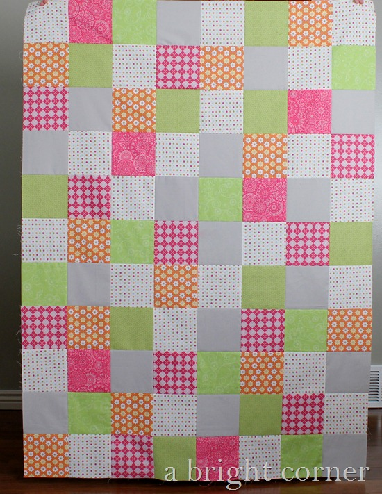 Relief Society quilt top 2