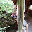 Canyoningtouren im Ötztal mit Dominikus Speer vom 20. - 21.7.2013