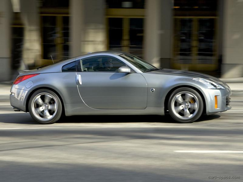 2006 nissan 350z coupe specifications pictures prices. Black Bedroom Furniture Sets. Home Design Ideas