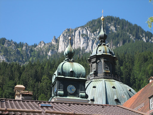 The kloster at Ettal
