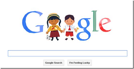 google doodle merayakan hari anak indonesia