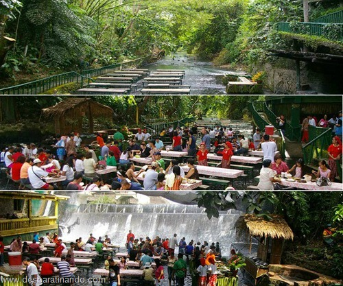 villa escudero Waterfall Restaurant restaurante na cachoeira desbaratinando  (6)