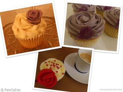 Cupcakes primavera