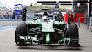 Caterham CT05 F1 car launch pictures