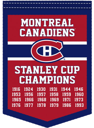 Flag Canadiens