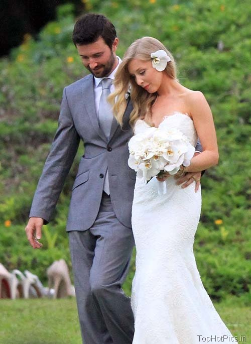 Leah Felder Hot Wedding Photos 1