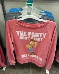 Party Woody Sweatshirt