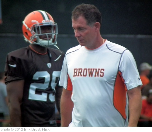 'Brandon Jackson and Head Coach Pat Shurmur' photo (c) 2012, Erik Drost - license: http://creativecommons.org/licenses/by/2.0/