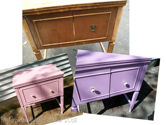 annie sloan chalk paint sewing cabinet