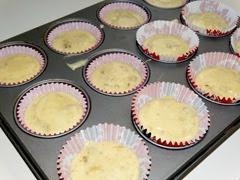 muffins de nueces