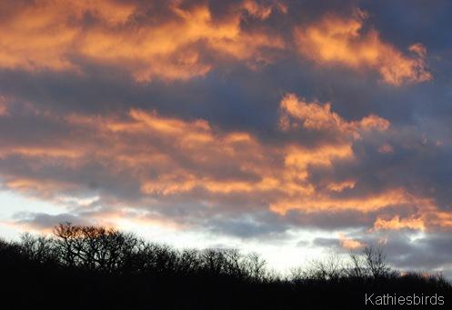 1-13-12b Sandy Point sunset-kab