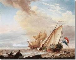 dongen-adutchyachtandarowingboatinchoppywaters