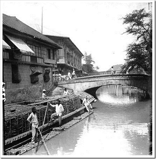 Escolta Bridge c1900s