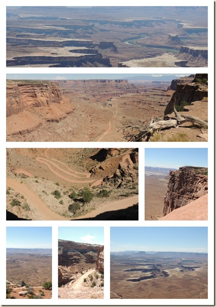 Canyonlands collage
