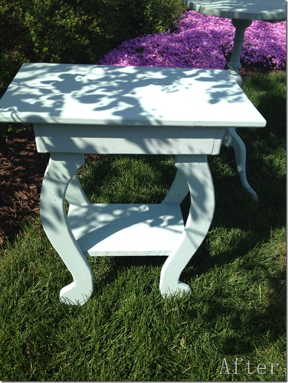 Small tables Duck Egg Blue 012