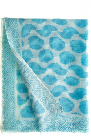 I absolutely love this scarf for summertime. The color and pattern are so refreshing.