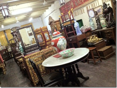 antique shop, Jonker Street, Malacca