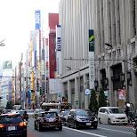 shinjuku street in Tokyo, Tokyo, Japan