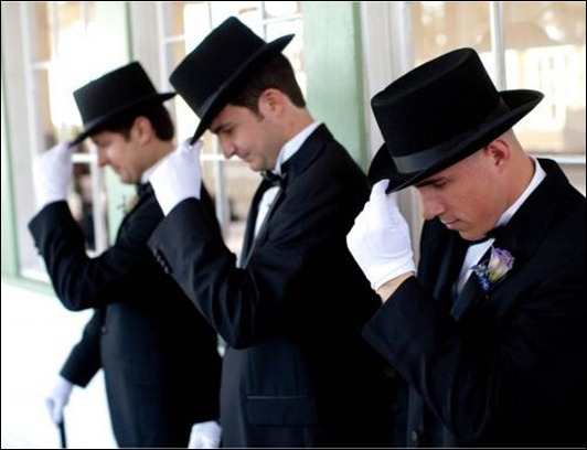 austin-texas-wedding-groomsmen-gentleman-in-black-tux-hat-white-gloves