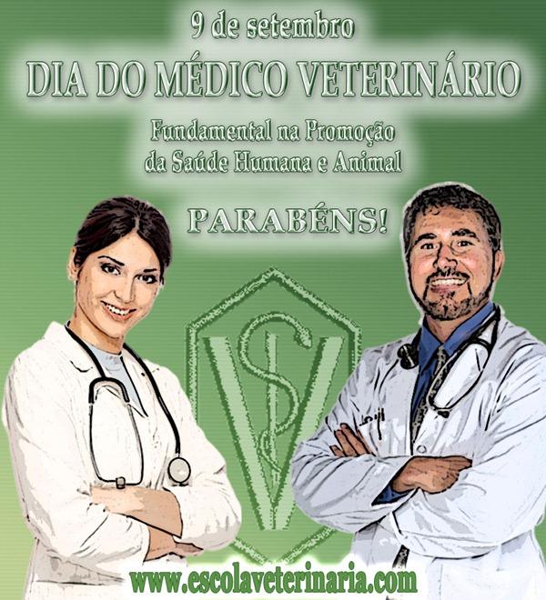 9 de setembro - Dia do Médico Veterinário