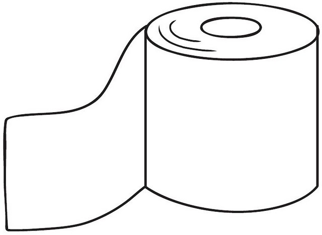 Colorear dibujos de papel higienico - Papel de pintar ...