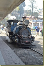 TT Train arrives
