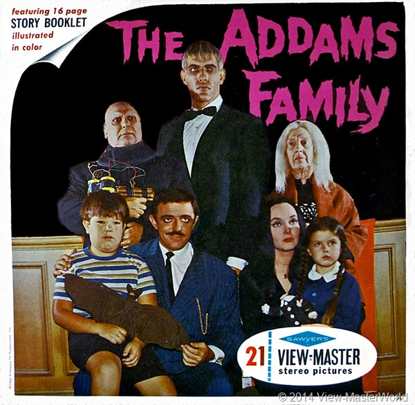View-Master The Addams Family B486 Packet Cover