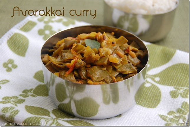Avarakkai curry