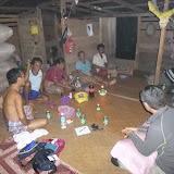 写真6:Penanの出作り小屋での生業調査