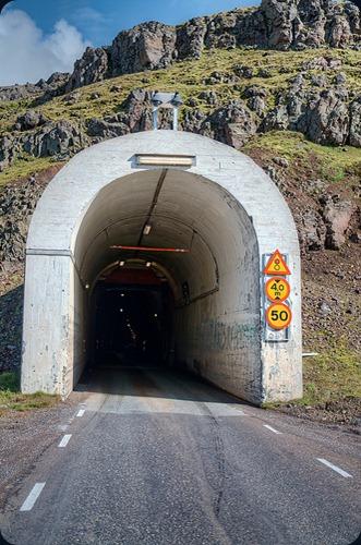 Iceland Oddsskarðsgöng