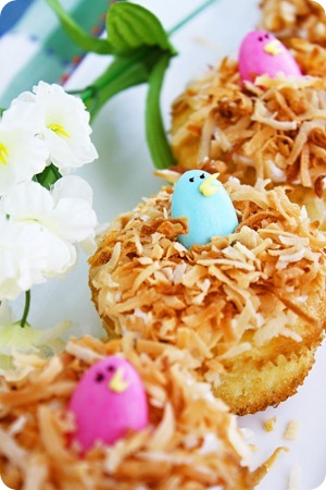 Birds Nest Cupcakes Recipe