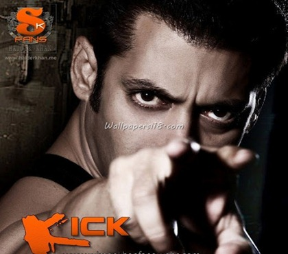 Bollywood Review Kick Movie Trailer 2013 Salman Khan Wallpapers