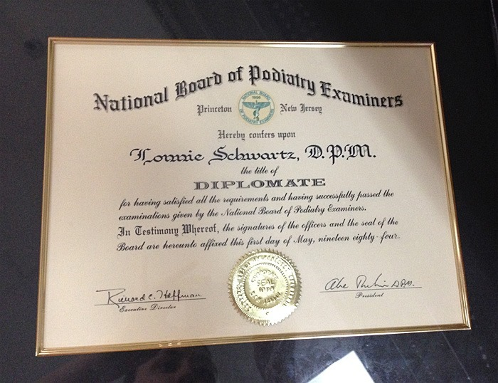 thriftscorethursday podiatry diploma
