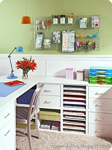20 Awesome working table for diy lovers 19