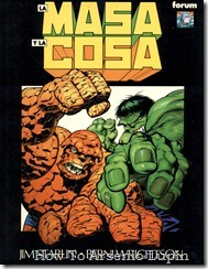 Hulk y La Cosa