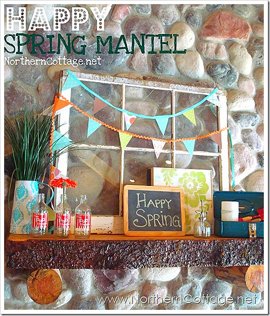 northern cottage spring mantel