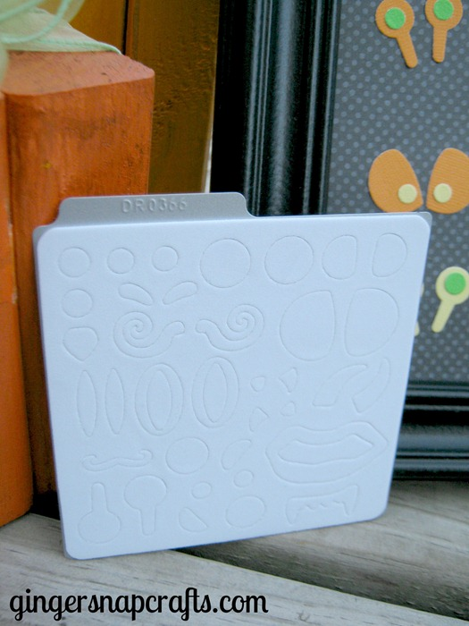 build a monster die cut from Lifestyle Crafts