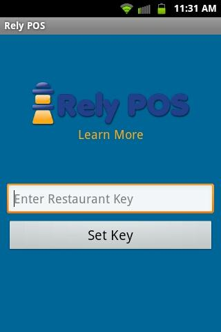 Rely POS Online Restaurant POS