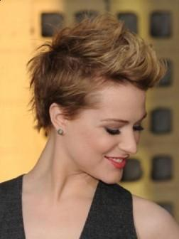 Evan Rachel Wood Short Pixie Haircuts
