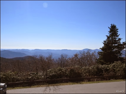 Brasstown Bald, Atlanta in distance