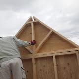 屋根工事準備