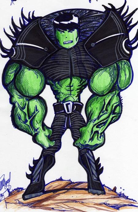 Un Hulk para Richi por Luis Miguel Torralvo