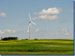 8450 Saskatchewan Trans-Canada Highway 1 Moosomin - wind turbine