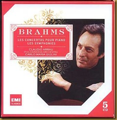 Brahms concierto piano 2 Giulini Arrau