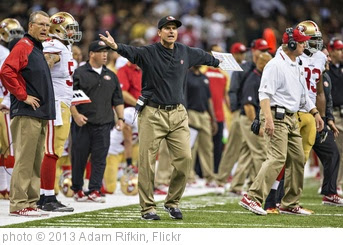 'Angry Jim Harbaugh in High Resolution' photo (c) 2013, Adam Rifkin - license: http://creativecommons.org/licenses/by/2.0/