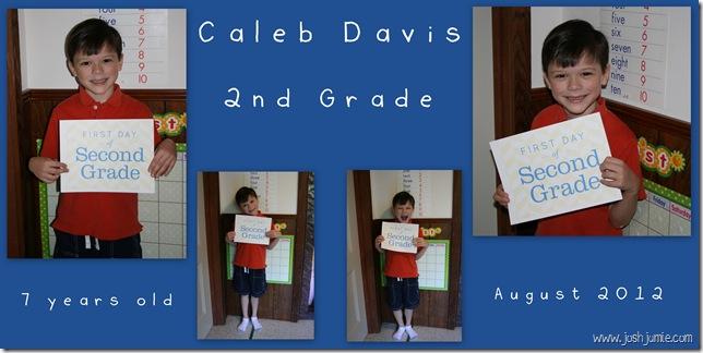 Caleb Davis - 6x12 - 1st Day