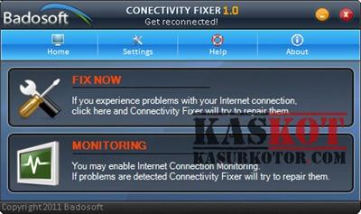 Memperbaiki Masalah Koneksi Internet