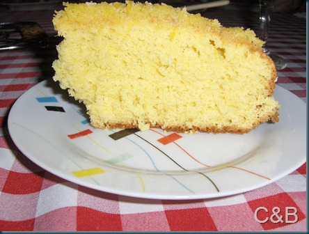 Pão de ló de laranja e coco III