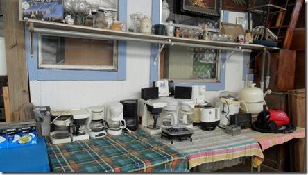 Some-glassware-&-electric appliances.