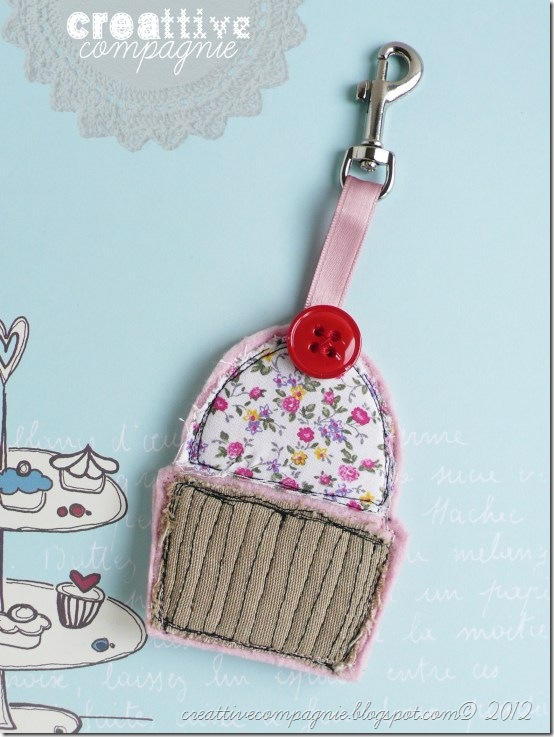 creattivecompagnie portachiavi porta monete cupcake (1)